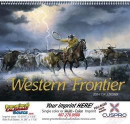 Western Frontier Promotional Calendar 2019 Spiral