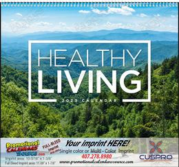 Healthy Living - Promotional Calendar 2018 Spiral