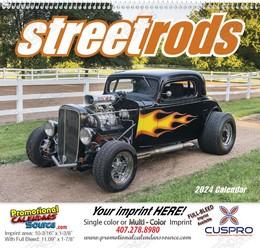 Street Rods - Promotional Calendar 2019 Spiral