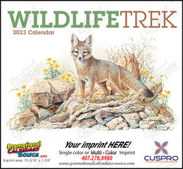 Wildlife Trek Promotional Calendar 2019 Stapled