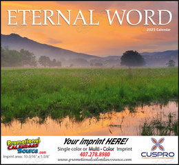 Eternal Word without Funeral Planner Religious Calendar, Bible Verses Int. Version