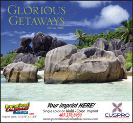 Glorious Getaways Promotional Scenic Calendar 2018 Stapled