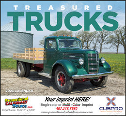 Treasured Trucks - Promotional Calendar 2019 Stapled