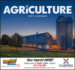 Agriculture Promotional Calendar 2019 Stapled