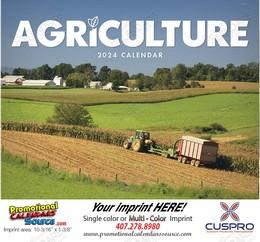 Agriculture Calendar Saddle Stitched