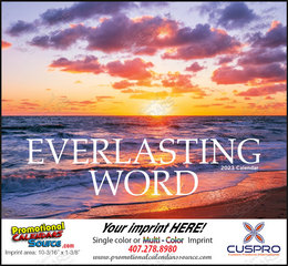Everlasing Word Religious Calendar with Bible verses from the King James version