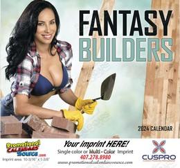 Fantasy Builders - Promotional Calendar 2019 Stapled