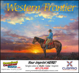 Western Frontier Promotional Calendar 2019 Stapled