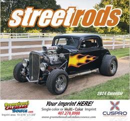 Street Rods Promotional Calendar  Stapled