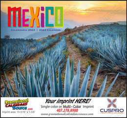 Mexico Promotional Calendar 2019 Stapled