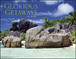 Glorious Getaways Promotional Calendar 2019 Window