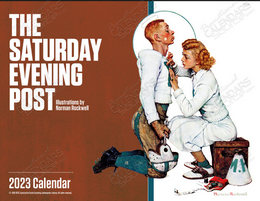 The Saturday Evening Post Promotional Calendar 2019 Window