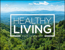 Healthy Living Scenes Promotional Calendar 2019  Window