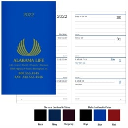 Classic Weekly Pocket Planner Promotional Calendar