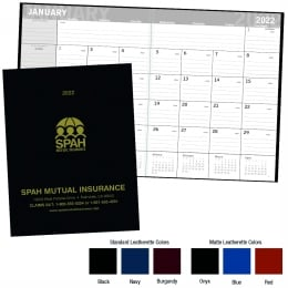 Promotional Classic Monthly Planner