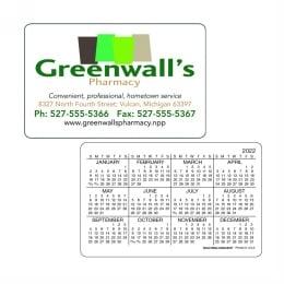 Wallet Calendar Horizontal