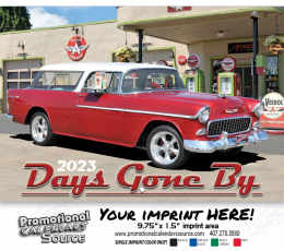 Classic Cars of Days Gone By Wall Calendar  - Stapled