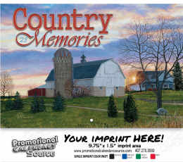 Country Memories Wall Calendar 2019 - Stapled