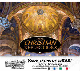 Christian Reflections Wall Calendar 2019 - Stapled