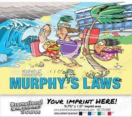 Murphy s Laws Wall Calendar  - Stapled