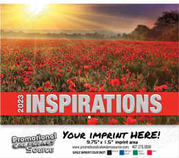 Inspirations  Wall Calendar  Stapled