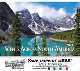 Scenes Across America Wall Calendar  Stapled
