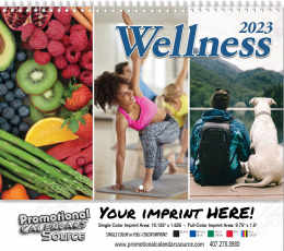 Wellness Wall Calendar 2019 - Spiral
