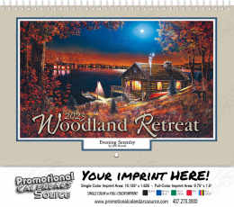 Woodland Retreats Wall Calendar 2019 - Spiral