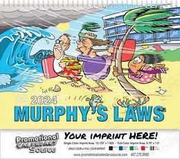 Murphy s Laws Wall Calendar  - Spiral