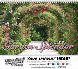 Garden Splendor Wall Calendar 2019 - Spiral