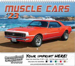 Muscle Cars Wall Calendar 2018 - Spiral