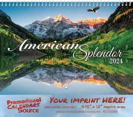 America Splendor Wall Calendar 2019 - Spiral