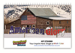 American Glory Desk Tent Calendar 6.25x4