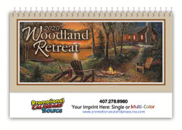 Woodland Retreats Promotional Desk Calendar