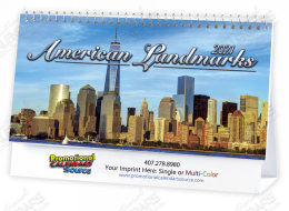 Historic Landmarks Promotional Desk Calendar 2018