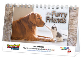 Cats & Dogs Promotional Desk Calendar 2018