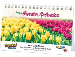 Garden Splendor Promotional Desk Calendar 2018