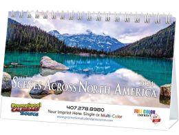 Scenes Across America Desk Promotional Calendar  - Scenes
