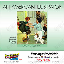 An American Illustrator Promotional Calendar 2019