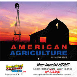 American Agriculture Promotional Calendar