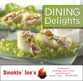 Dining Delights Promotional Calendar 2018