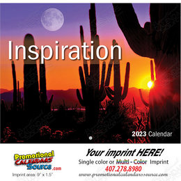 Inspiration Promotional Calendar  - Stapled