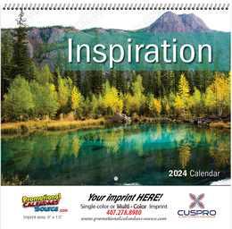 lnspiration Promotional Wall Calendar  - Spiral