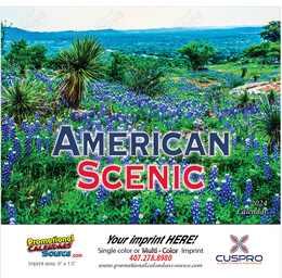 American Scenic Promotional Calendar 2019 - Stapled