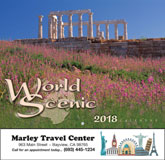 World Scenic Promotional Calendar 2018 - Stapled