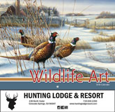 Wildlife Art Promotional Calendar 2018 - Stapled