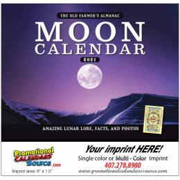 Moon Calendar Stapled The Old Farmer Alamanac