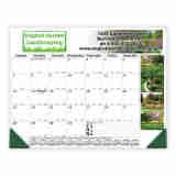 Desk Pad Calendar with Full-Color Top & Side Imprint - Size 17