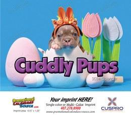 Puppies Animal Calendar 2022 - Stapled