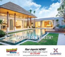 Dream Homes Calendar 2022 - Stapled
